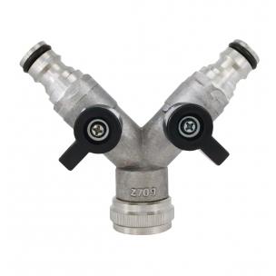 """3cestný ventil se 2 uzavíracími pákami 3/4"""""""