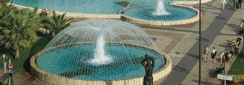 Městské fontány